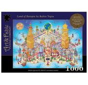 Art & Fable Puzzle Company Art & Fable Land of Rutopia Puzzle 1000pcs