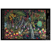 Art & Fable Puzzle Company Art & Fable Microcosmic Garden Puzzle 500pcs