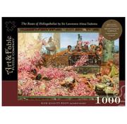 Art & Fable Puzzle Company Art & Fable Roses of Heliogabalus Puzzle 1000pcs