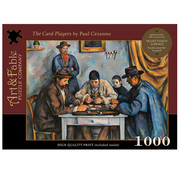 Art & Fable Puzzle Company Art & Fable The Card Players Puzzle 1000pcs