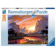 Ravensburger Ravensburger Tranquil Sunset Puzzle 500pcs