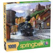 Springbok Springbok Mountain Express Puzzle 1000pcs