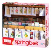Springbok Springbok Parisian Library Puzzle 1000pcs