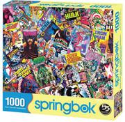 Springbok Springbok Comic Books Galore Puzzle 1000pcs