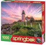 Springbok Springbok West Quoddy Head Lighthouse Puzzle 1000pcs
