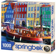 Springbok Springbok Copenhagen Waterfront Puzzle 1000pcs