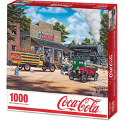 Springbok Springbok Coca-Cola All Aboard Puzzle 1000pcs