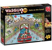 Jumbo Jumbo Wasgij Original 33 Calm on the Canal! Puzzle 1000pcs