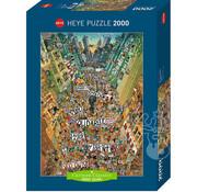Heye Heye Cartoon Classics Protest Puzzle 2000pcs