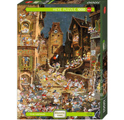 Heye Heye Romantic Town: By Night Puzzle 1000pcs