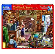 White Mountain White Mountain Old Book Store Puzzle 1000pcs