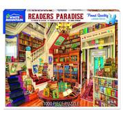 White Mountain White Mountain Reader's Paradise Puzzle 1000pcs