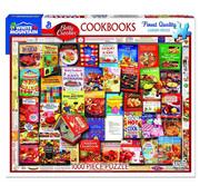 White Mountain White Mountain Betty Crocker Cookbooks Puzzle 1000pcs