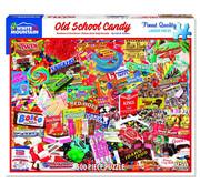 White Mountain White Mountain Old School Candy Puzzle 550pcs
