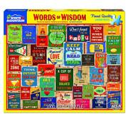 White Mountain White Mountain Words of Wisdom Puzzle 1000pcs