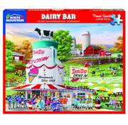 White Mountain White Mountain Dairy Bar Puzzle 1000pcs
