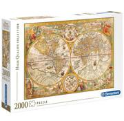 Clementoni Clementoni Ancient Map Puzzle 2000pcs