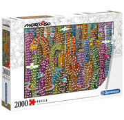 Clementoni Clementoni Mordillo, The Jungle Puzzle 2000pcs