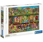 Clementoni Clementoni The Garden Shelf Puzzle 2000pcs