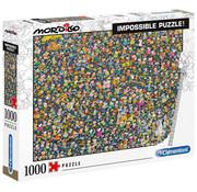 Clementoni Clementoni Mordillo, Impossible Puzzle 1000pcs