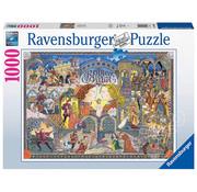 Ravensburger Ravensburger Romeo & Juliet Puzzle 1000pcs