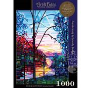 Art & Fable Puzzle Company Art & Fable Awakening Puzzle 1000pcs