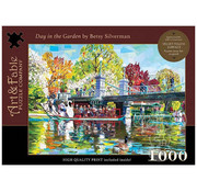 Art & Fable Puzzle Company Art & Fable Day in the Garden Puzzle 1000pcs