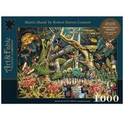 Art & Fable Puzzle Company Art & Fable Mantis Mundi Puzzle 1000pcs