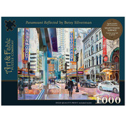Art & Fable Puzzle Company Art & Fable Paramount Reflected Puzzle 1000pcs