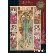 Art & Fable Puzzle Company Art & Fable La Nouvelle Femme Puzzle 1000pcs