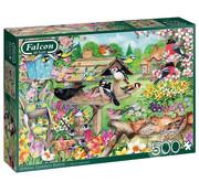 Falcon Falcon Spring Garden Birds Puzzle 500pcs