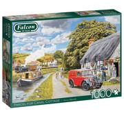 Falcon Falcon Parcel for Canal Cottage Puzzle 1000pcs