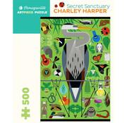 Pomegranate Pomegranate Charley Harper Secret Sanctuary Puzzle 500pcs