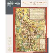 Pomegranate Pomegranate Street Map of Cambridge 1574 Puzzle 500pcs