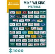 Pomegranate Pomegranate Mike Wilkins: Preamble Puzzle 1000pcs