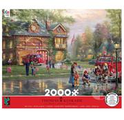 Ceaco Ceaco Thomas Kinkade Hometown Firehouse Puzzle 2000pcs