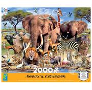 Ceaco Ceaco African Plains Puzzle 2000pcs