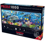 Anatolian Anatolian Undersea Panoramic Puzzle 1000pcs