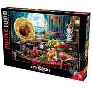 Anatolian Anatolian Still Life With Fruit Puzzle 1000pcs