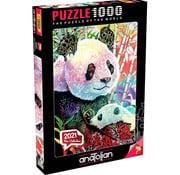 Anatolian Anatolian Rainbow Panda Puzzle 1000pcs