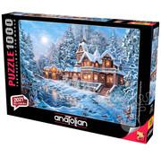 Anatolian Anatolian Winter Magic Puzzle 1000pcs