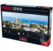 Anatolian Anatolian Sultanahmet Mosque Panoramic Puzzle 1000pcs