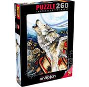 Anatolian Anatolian Howling Wolf Puzzle 260pcs