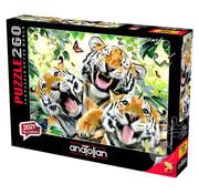 Anatolian Anatolian Tiger Selfie Puzzle 260pcs