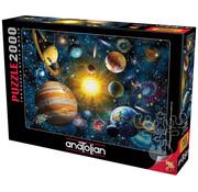 Anatolian Anatolian Solar System Puzzle 2000pcs