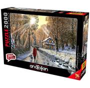 Anatolian Anatolian Winter Woodland Puzzle 2000pcs