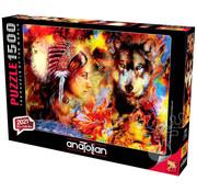 Anatolian Anatolian Wolf Maiden Puzzle 1500pcs