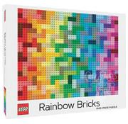 Chronicle Books Chronicle LEGO Rainbow Bricks Puzzle 1000pcs