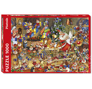 Piatnik Piatnik Christmas Chaos Puzzle 1000pcs