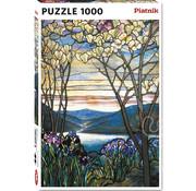 Piatnik Piatnik Magnolias and Irises Puzzle 1000pcs